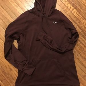 Women's Maroon Nike Hoodie